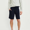 Next Summer Terry Jersey Short For Men-Dark Navy & Grey Stripe-BE8833