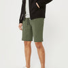Next Summer Terry Jersey Short For Men-Olive-BE8832