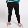 Next Terry Fleece Jogger Trouser For Kids-Black Melange-BE10054