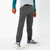 Next Terry Fleece Jogger Trouser For Kids-Charcoal Melange-BE10052