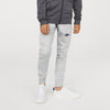 NK Terry Fleece Jogger Trouser For Boys-Grey Melange-SP1064