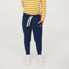 Next Terry Fleece Jogger Trouser For Kids-Navy-BE7053