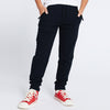 Next Terry Fleece Jogger Trouser For Kids-Navy Melange Lining-BE10010