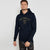 Next Terry Fleece Pullover Hoodie For Men-Dark Navy-BE6283