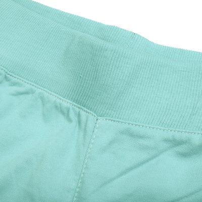 brandsego - Next Terry Fleece Short For Men-Cyan Green with Stripe-BE9130