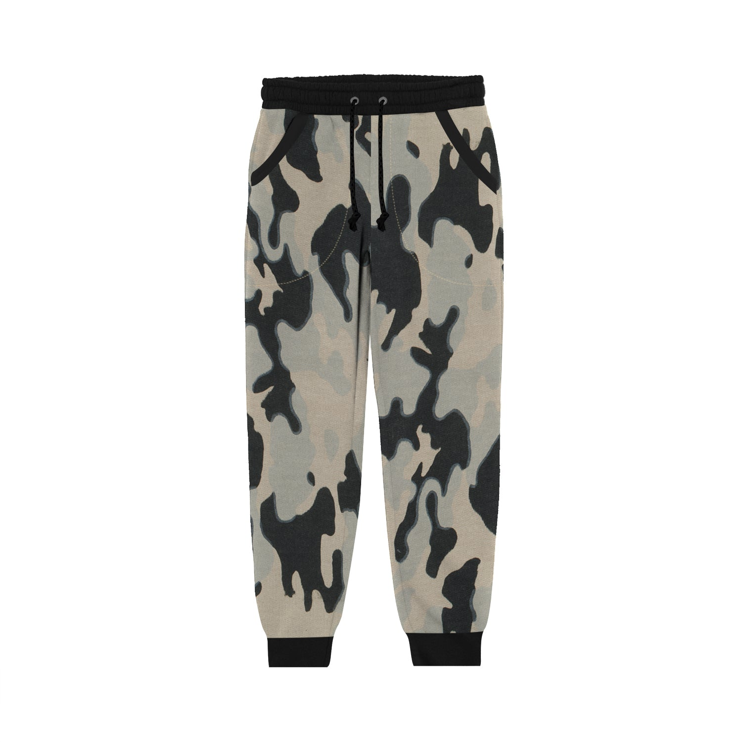 Next Terry Fleece Slim Fit Jogger Trouser For Kids-Skin with Allover Camouflage Print-BE13376