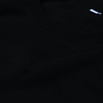 Next Terry Fleece Raglan Sleeve Sweatshirt For Men-Black-BE6214