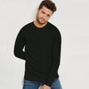 Next Terry Fleece Sweatshirt For Men-Dark Olive-BE6891