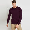 Next Terry Fleece Sweatshirt For Men-Indigo-BE6893