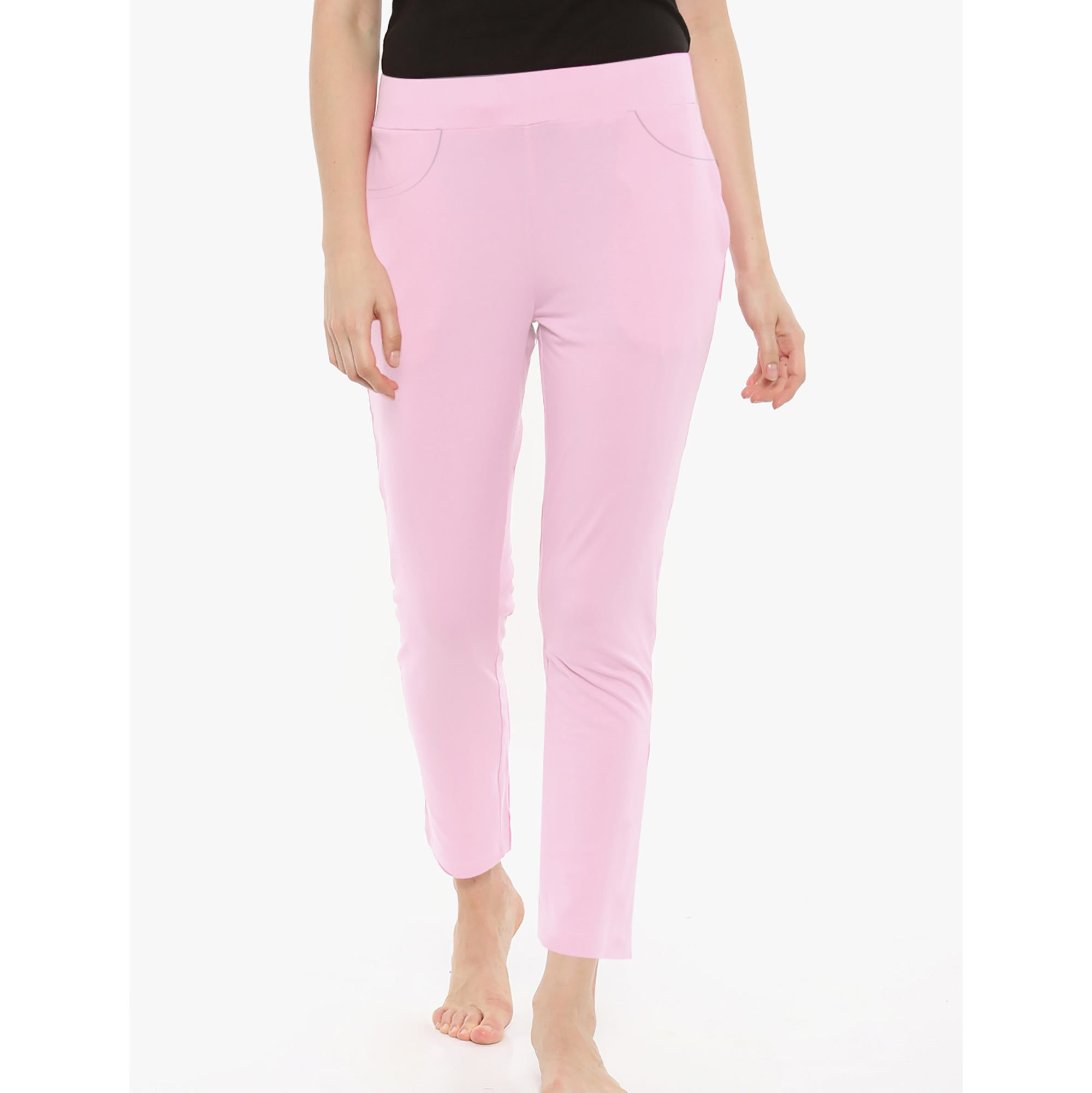 brandsego - NEXT Terry Fleece Trouser For Ladies-Light Pink-BE5025