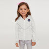 Next Terry Fleece Zipper Hoodie For Kids-Off White Melange-BE6568