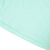 NK Crew Neck Tee Shirt For Men-Light Sea Green with Navy Melange Panels-BE11957