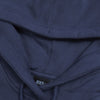 NK Fleece Light Navy & White Embroidery Pullover Hoodie For Men-Light Navy-BE10282