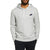 NK Fleece Pullover Hoodie For Men-Grey Melange-AN1344