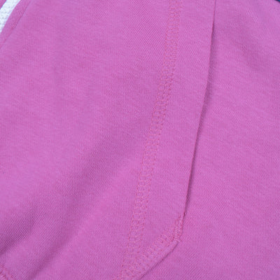NK Slim Fit Stretchable Zipper Hoodie For Men-Magenta with Dark Zinc & Sky Panel-BE11031