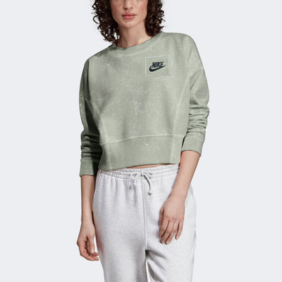 NK Terry Fleece Grapes & Navy Embroidery Coeeze Sweatshirt For Women-Grapes Faded-BE10219