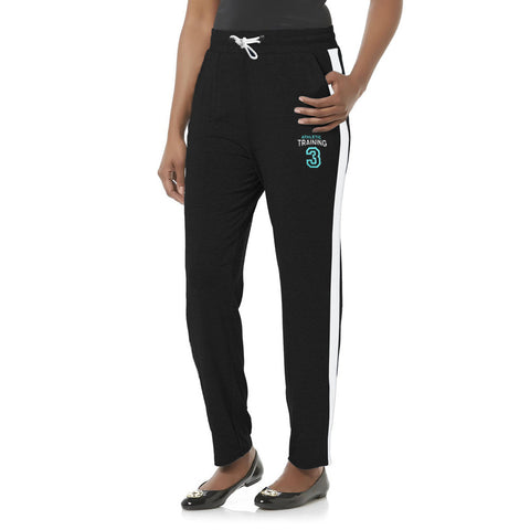 "Ladies ""Korrekt"" Athletic Black Trouser"