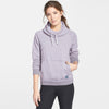 NYC Fleece Fleece Rally Funnel Neck For Ladies-Light Purple Melange-BE7027