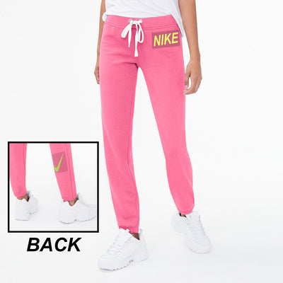 NK Polo Fleece Slim Fit Trouser For Ladies-Pink-BE10853