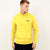 NYC Polo Fleece Pullover Hoodie For Men-Yellow-AN1345