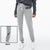 NK Fleece Slim Fit Trouser For Ladies-Grey Melange-BE10855