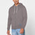 NYC Polo Fleece Zipper Hoodie For Men-Light Brown-BE12904