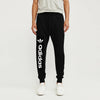 Adidas Terry Fleece Slim Fit Jogger Trouser For Men-Black-BE10716