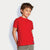NYC Single Jersey Tee Shirt For Kid-Red-BE5566