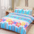 Oker's Island 100% Cotton Printed Double Bed Sheet & Pillow Set-BE5693