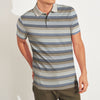 Outdoor Life Short Sleeve Single Jersey Polo Shirt For Men-Striped-SP040
