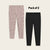 Pack Of 2 Guess Stylish Legging For Girls-Black & Brown with Allover Print-BE12310