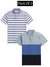 Pack Of 2 Short Sleeve P.Q Polo Shirt For Men-AN2683