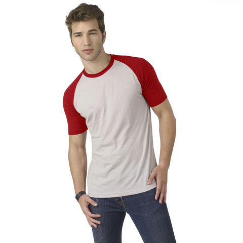Fat Face Half Sleeve Crew Neck T Shirt For Men-White & Red-BE718