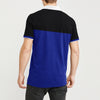 POLO Classic Short Sleeve P.Q Polo Shirt For Men-Dark Navy & Dark Blue Stripe-BE8619