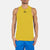 Polyester Sleeveless Sport Shirt For Men-Yellow-BE6551