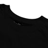 brandsego - Popular Sports Single Jersey Crew Neck Crop Top For Women-Black-BE9668