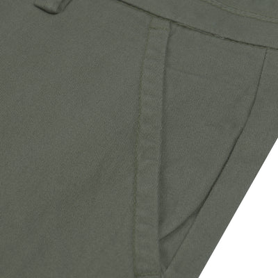 brandsego - Premium Chino Short For Ladies-Camouflage Green-BE7074