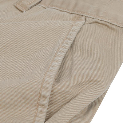 brandsego - Premium Cotton Denim Short For Men-Khaki-BE7107