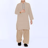 Premium Kurta & Shalwar For Boys-Light Camel-BE6921