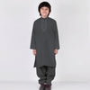 Premium Kurta & Shalwar For Boys-Rosy Black-BE6933