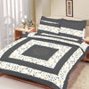 Premium Quality Cotton Sutton Double Bed Sheet & Pillow Set-BE10380