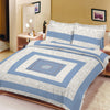 Premium Quality Cotton Sutton Double Bed Sheet & Pillow Set-BE9111