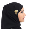 Premium Quality Fancy Hijab Pin-BE8091