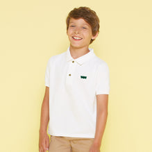 Levis Polo Shirts For Kids-White-BE1004