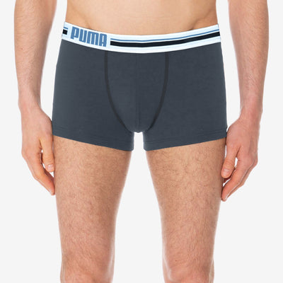 PUMA Boxer Shorts For Men-Slate Grey-BE6962