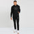 RB Regular Fit Fleece Pullover Track Suit For Men-Black-BE13250