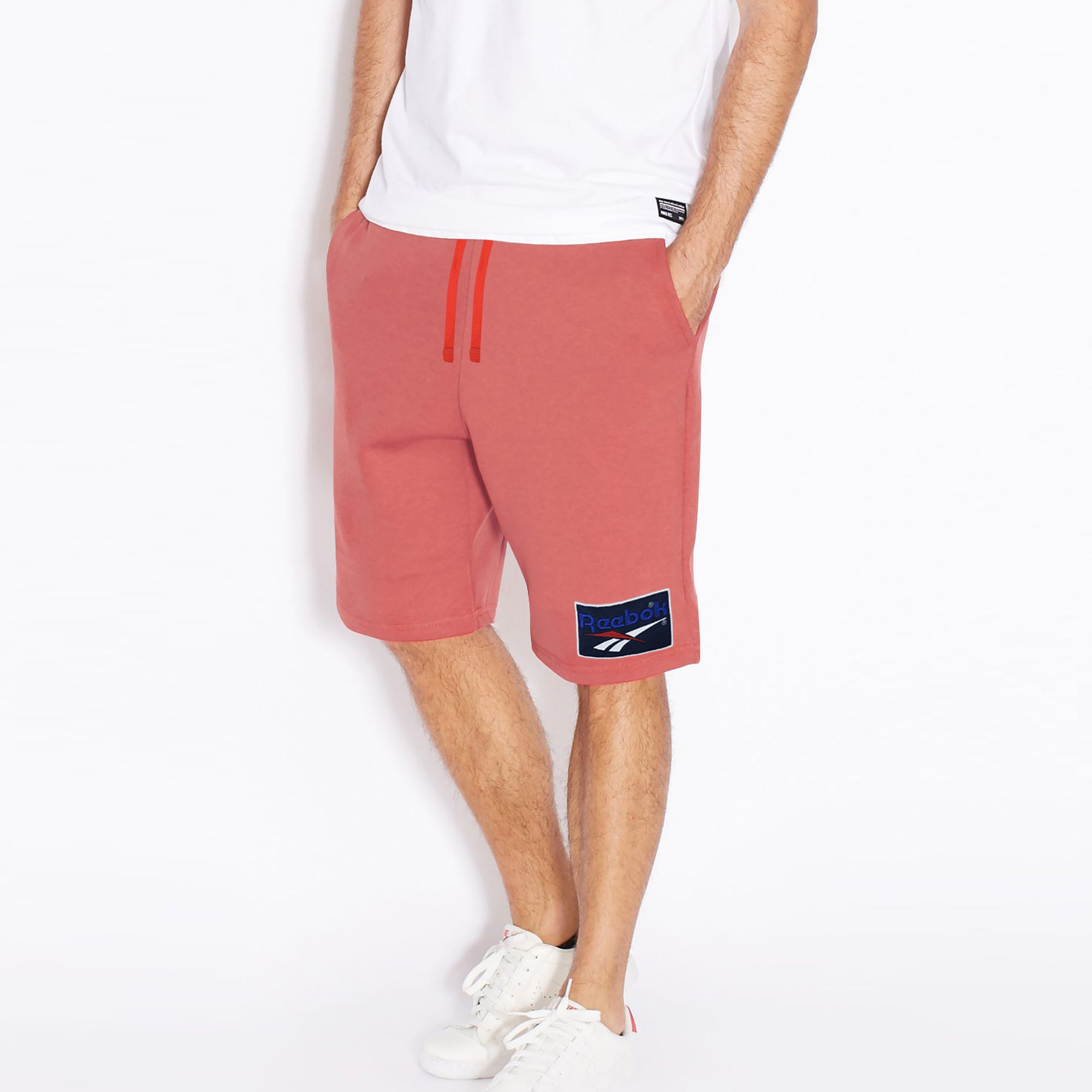 Reebok Terry Jersey Short For Men-Red-BE7353