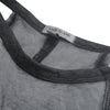 River Island Shoulder less Burnout Blouse For Ladies-Charcoal-BE7417