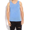 brandsego - River Island Sleeveless Burnout Vest For Men-Sky-BE7420