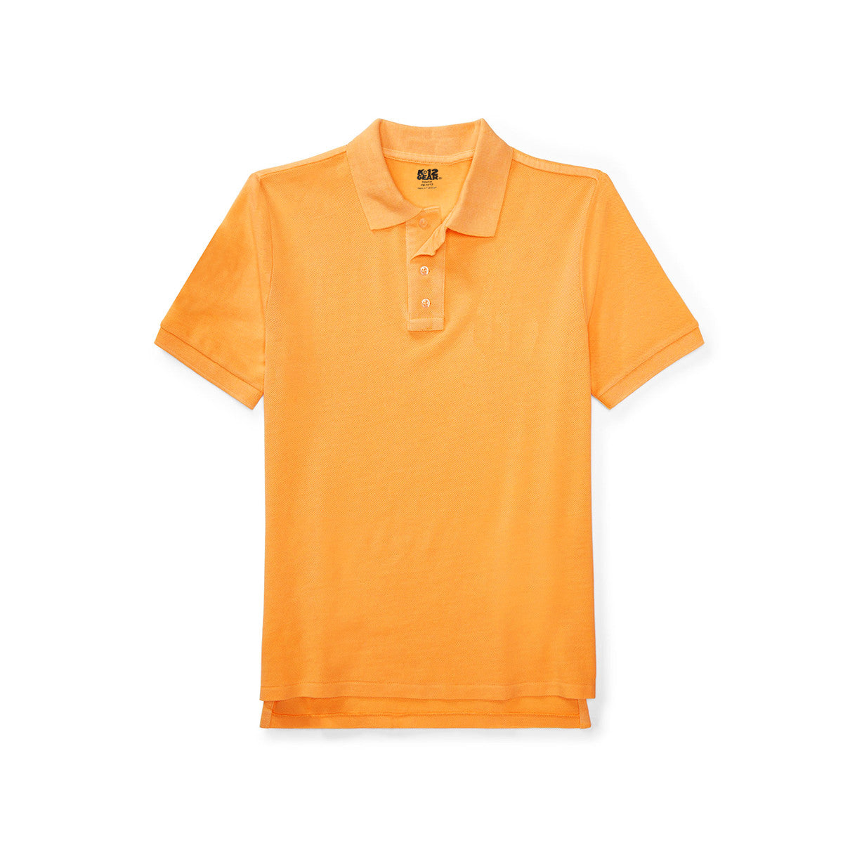 K12 Polo Shirt For Kid Cut Label-Yellow-PSK57